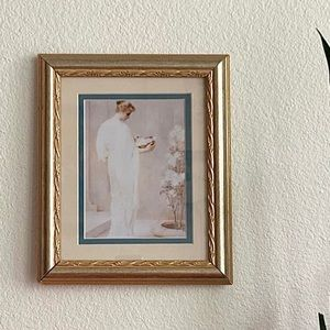 Framed Woman Portrait
